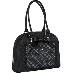 JP Lizzy Black Tea Cate Diaper Tote.