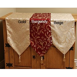 Luxury Damask Table Runner | Overstock.com | Table Runners :  table runners and placemats home decor table runners table runner