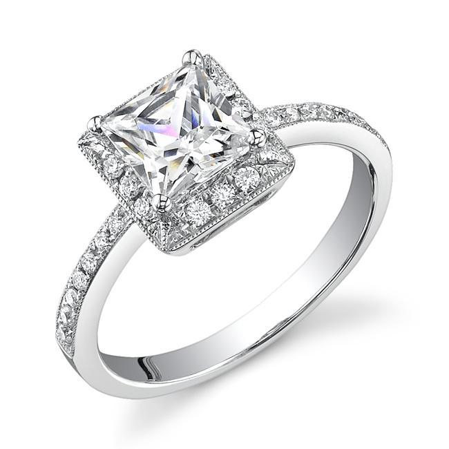 top 7 princess cut engagement rings engagement