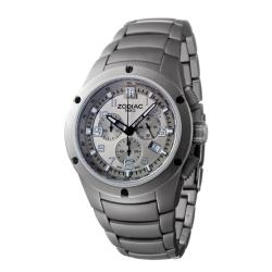 Zodiac Men's 'Speed Control' Titanium Quartz Chronograph Watch.