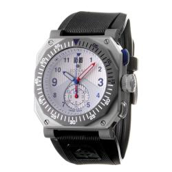 Zodiac Men's 'ZMX' Titanium and Rubber Quartz Chronograph Watch.