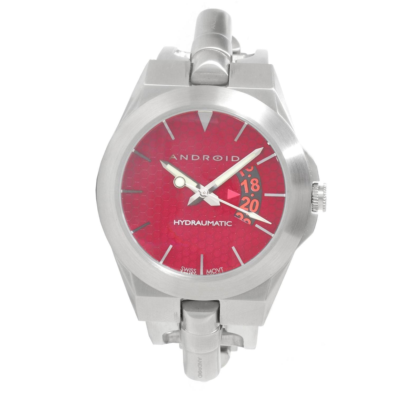 Android Men's Hydraumatic Piston Swiss Quartz Stainless Steel Watch