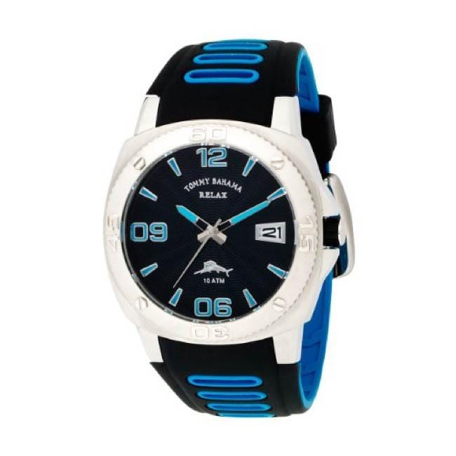 Tommy Bahama Men's Relax 'Reef Diver' Polyurethane Strap Watch