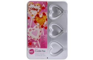 Wilton 6-cavity Heart-shaped Cookie Pan