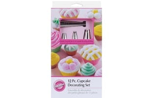 Wilton 12-piece Cupcake Decorating Set
