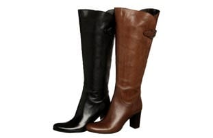 Ballerina Women's 'Este' Knee-high Italian Leather Boots