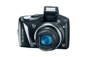 Canon Powershot SX130IS 12.1MP Digital Camera