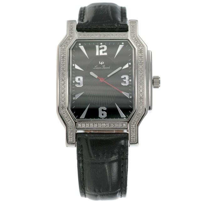 Lucien Piccard 'Rapture' Men's Diamond Watch