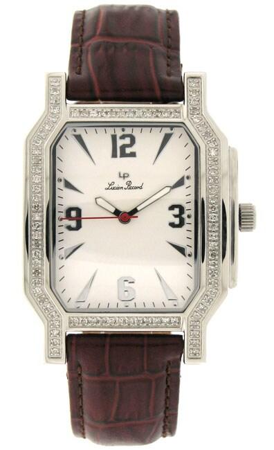 Lucien Piccard 'Rapture' Diamond Men's Watch
