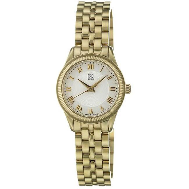 ESQ by Movado Women's Harrison Goldtone Stainless Steel Quartz Watch