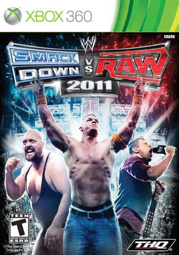 Xbox 360 - WWE Smackdown vs Raw 2011 - By THQ