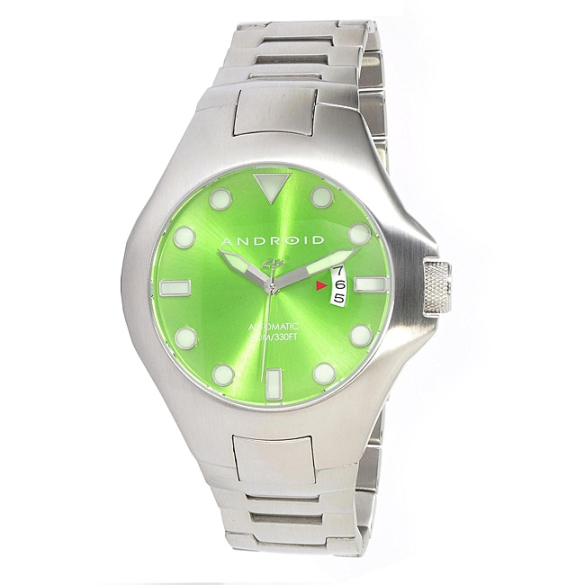 Android Men's Octopuz Automatic Stainless Steel Divers Watch