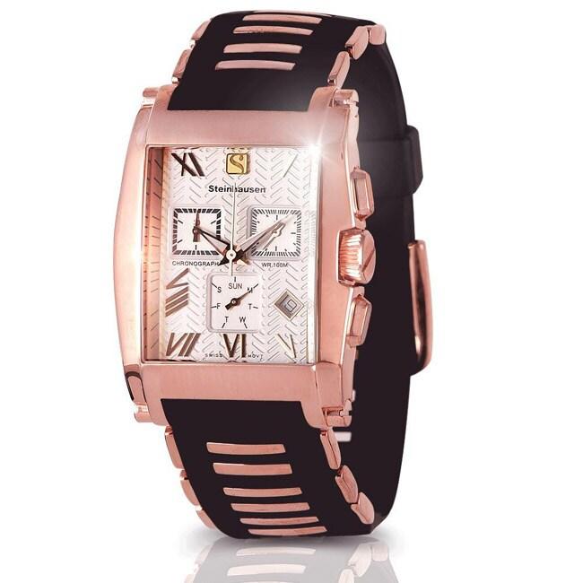 Steinhausen Men's Rose Gold Sport Riviera Chronograph Watch