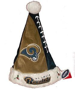 Colorblock St. Louis Rams Santa Hat
