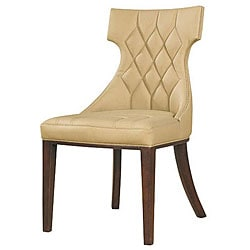 Regis Leather Chairs (Set of 2).