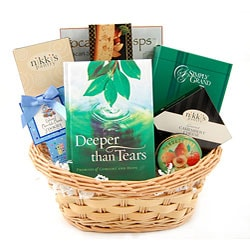 Comfort and Hope Gift Basket.