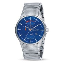 Skagen Men's Sports Blue Dial Chronograph Watch.