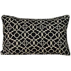 Jiti Pillows Outdoor Black Moroccan Decorative Pillow