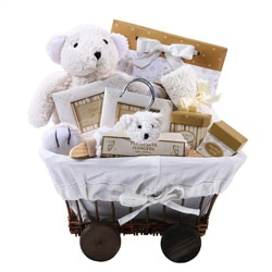 Natural Love Baby Gift Basket