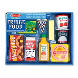 Melissa Doug Fridge Food Set