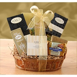 Delightfully Classic Gift Basket.