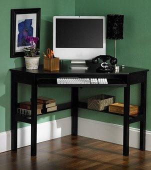 Corner Desks For Small Spaces, Framed Art Prints Cheap, Corner Writing ...